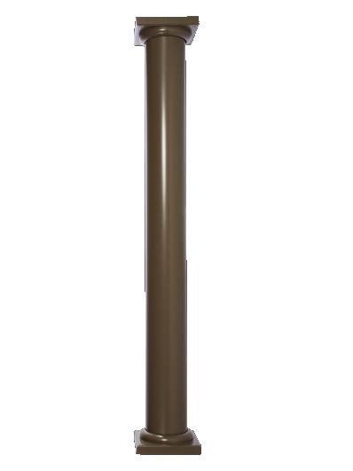 Round Straight Column