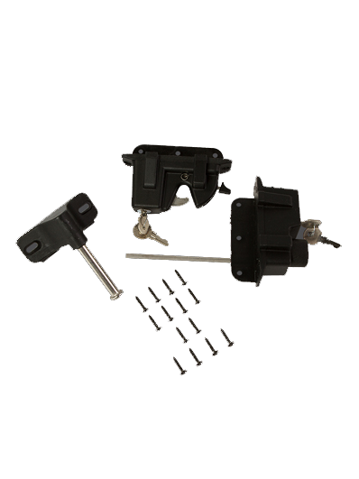 Gate Latch With Key Lock