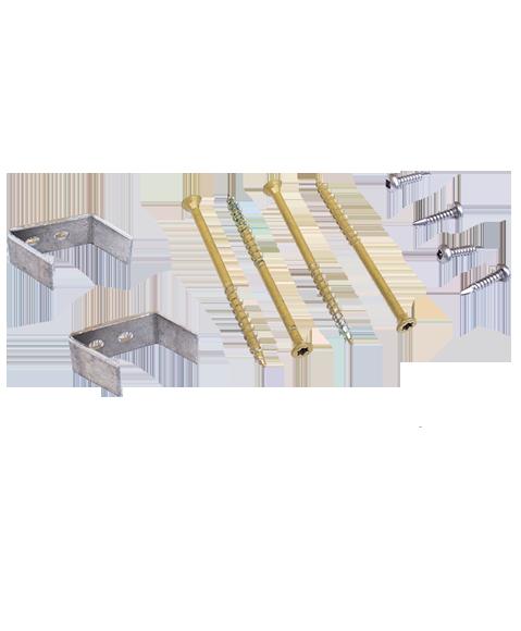 45° wall mount kit