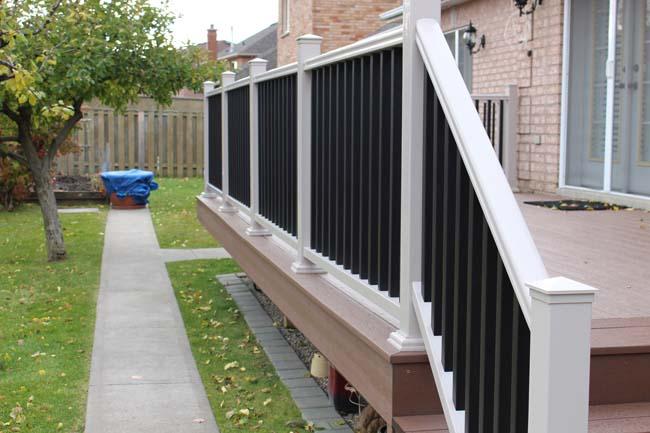 Aluminum Railing Black
